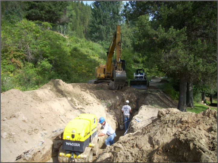 Town of Ione (WA) 10th Street Water Main