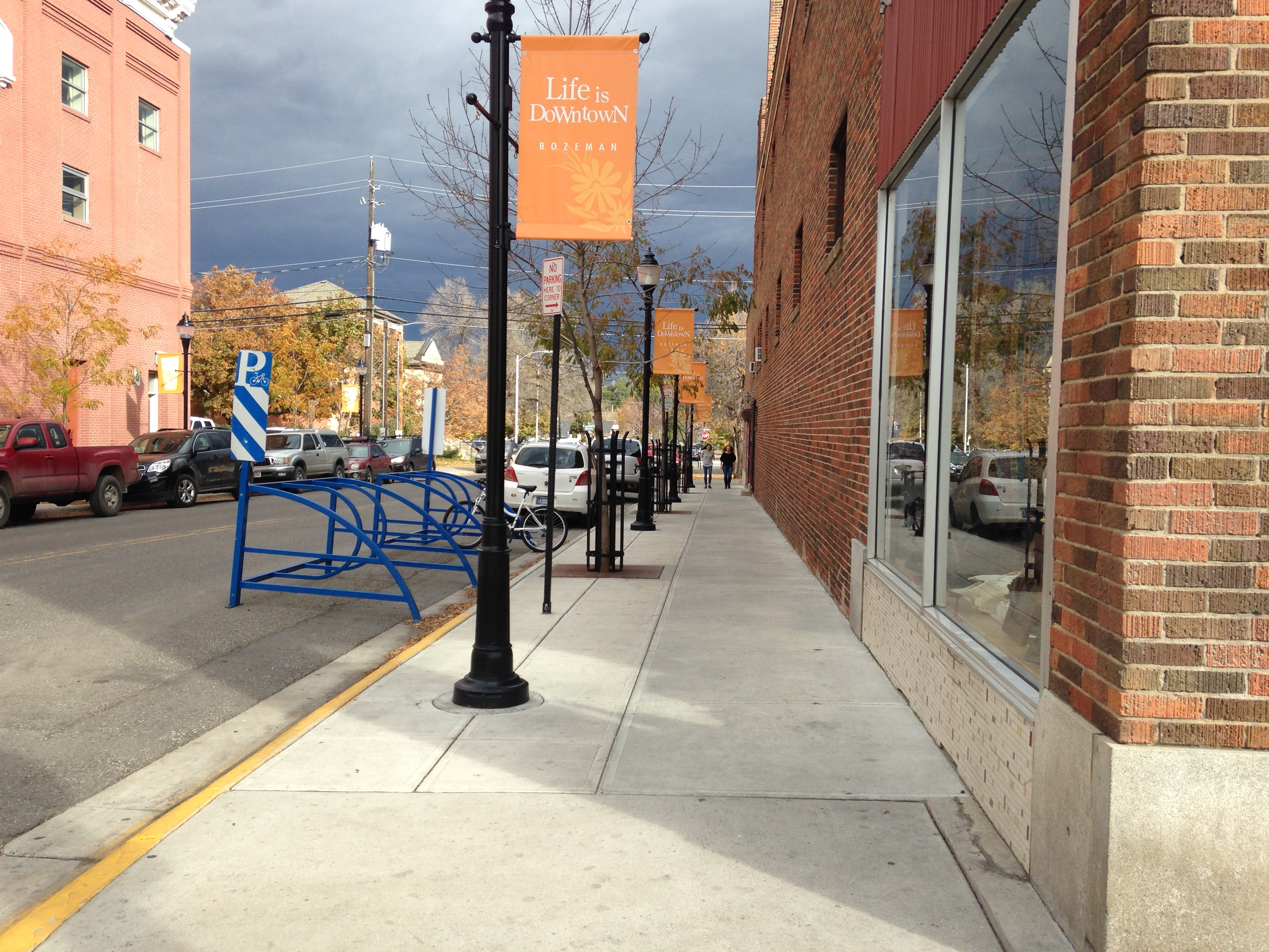 Downtown Bozeman Streetscape