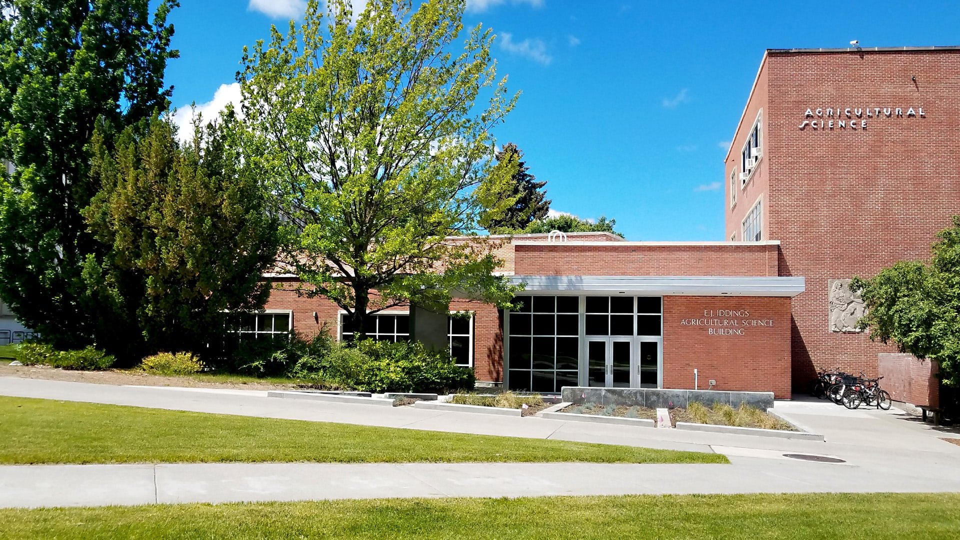 University of Idaho Agricultural Science Building & ADA Universal Accessibility Entrance