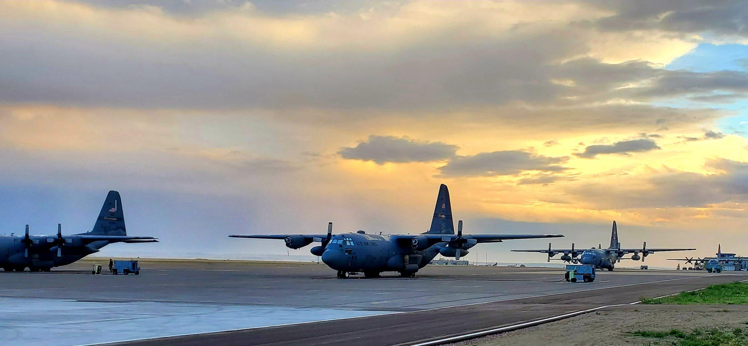 11 Sept C130 runway bosslift (1)